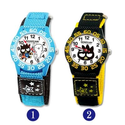 Sanrio三麗鷗自黏休閒織帶手錶33mm-酷企鵝(兩款任選)