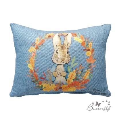 台製MIT-比得兔Peter Rabbit彼得兔經典系列小腰枕-多款任選