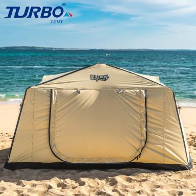 【Turbo Tent】Alkwar 單人野戰帳篷(快速組立 一體成型 野營帳篷)