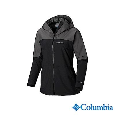 Columbia 哥倫比亞 女款-OT防水外套-黑色 URR00790BK