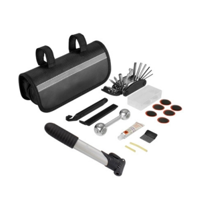 【LOTUS】自行車修補工具 維修工具組 打氣筒 補胎 維修(打氣筒 補胎)