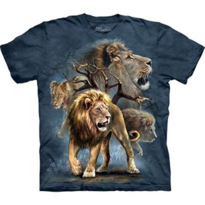 摩達客-美國The Mountain 大獅群 兒童版純棉環保短袖T恤