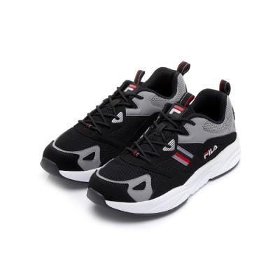 FILA MORGAN 男性運動鞋-黑灰 1-J314U-401