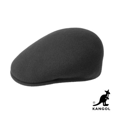 KANGOL-504 WOOL鴨舌帽-深灰色
