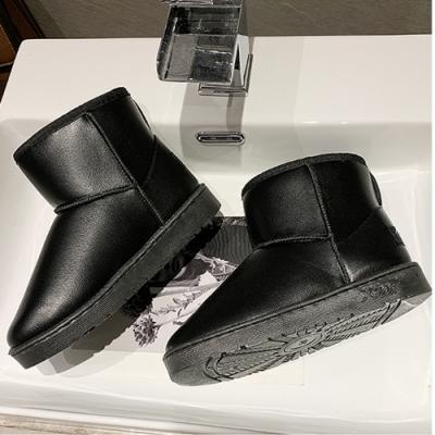 KEITH-WILL時尚鞋館 歐美主流質感短靴-黑色
