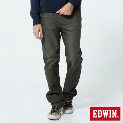 EDWIN AB褲 JERSEYS迦績色褲-男-橄欖綠