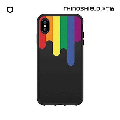 犀牛盾SolidSuit獨家設計防摔背蓋手機殼-彩虹