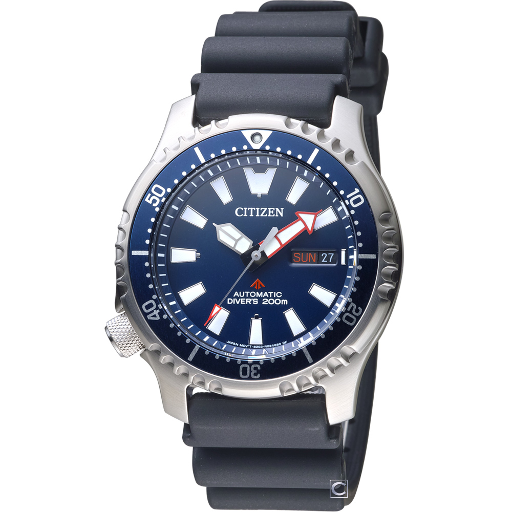 CITIZEN PROMASTER 黑豹特遣隊機械錶(NY0081-10L)42mm @ Y!購物