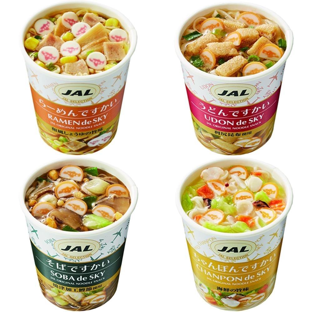 日清 x JAL 日本航空聯名小杯麵4杯(35g±5%/杯)