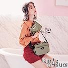 KINAZ casual 熱情雙眼斜背包-微光淺灰-LOBBY BOY系列