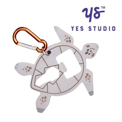 【YES STUDIO】7合1海龜造型隨身工具卡