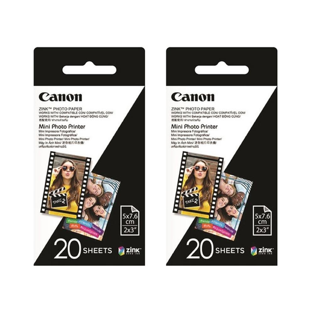 Canon ZP-2030 ZINK 2x3相片紙 (2入40張)