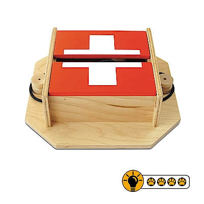 【靈靈狗】瑞士藏寶箱 - 寵物桌遊/益智玩具/互動遊戲