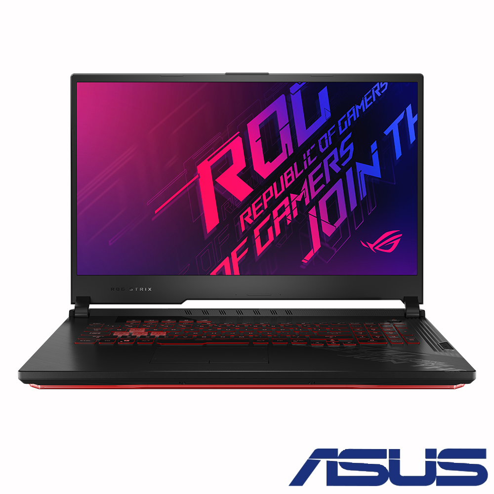 ASUS G712LU 17吋電競筆電 (i7-10750H/GTX1660Ti/8G/512G SSD/ROG Strix G17/潮魂黑)