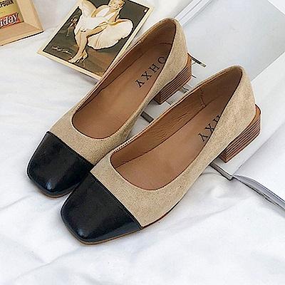 KEITH-WILL時尚鞋館 年度精選絕美閃耀粗跟鞋-黑色