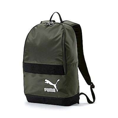 PUMA-男女PUMA Originals後背包-深林綠