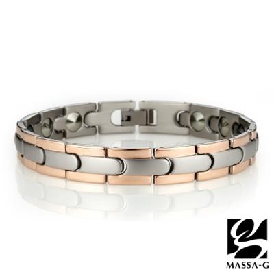 MASSA-G【玫瑰風華】純鈦能量手環