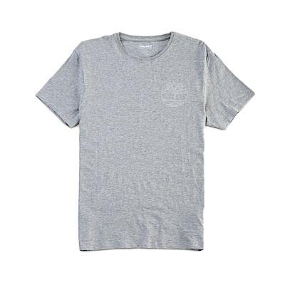 Timberland 男款灰色 LOGO T恤|A1NB4