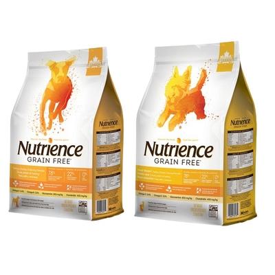 Nutrience紐崔斯GRAIN FREE無穀養生犬糧《放養火雞&漢方草本配方》 2.5kg(5.5lbs) (購買第二件贈送寵鮮食零食1包)