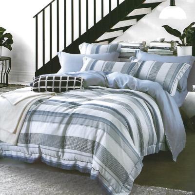 LAMINA 蘭諾 加大100%天絲四件式兩用被套床包組