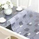 【歐達家居】軟玻璃防油水立體壓花桌墊