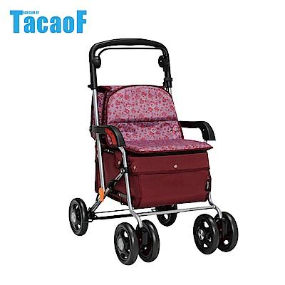 日本TacaoF幸和 標準扶手型助步車-酒紅
