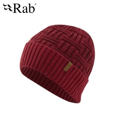 【RAB】Pinto Beanie 竹籃針織豆豆帽 腥紅 #QAA95
