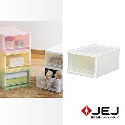 日本JEJ STORA系列 單層可疊式多功能抽屜盒/A4 5色可選