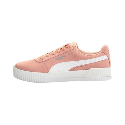 [時時樂限定]PUMA-Carina 女性復古休閒鞋-桃芽粉
