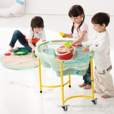 Weplay身體潛能開發系列【創意互動】娃娃沙箱(透明綠) ATG-KT2001-00C