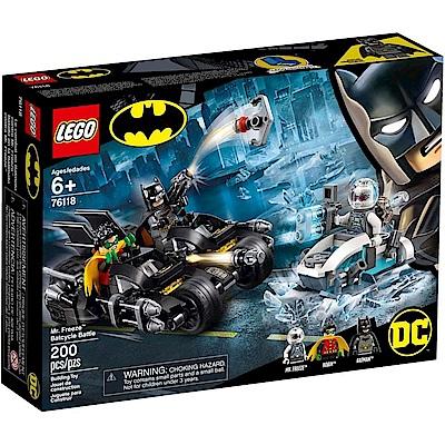樂高LEGO 超級英雄系列 - LT76118 Mr. Freeze Batcycle B