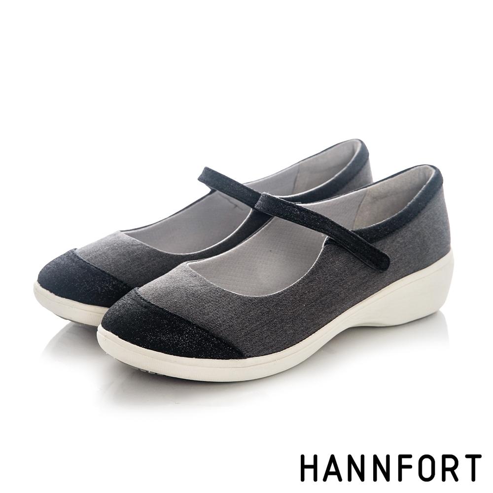 HANNFORT 澳洲  H-COMF五密度星沙瑪莉珍鞋 女 黑