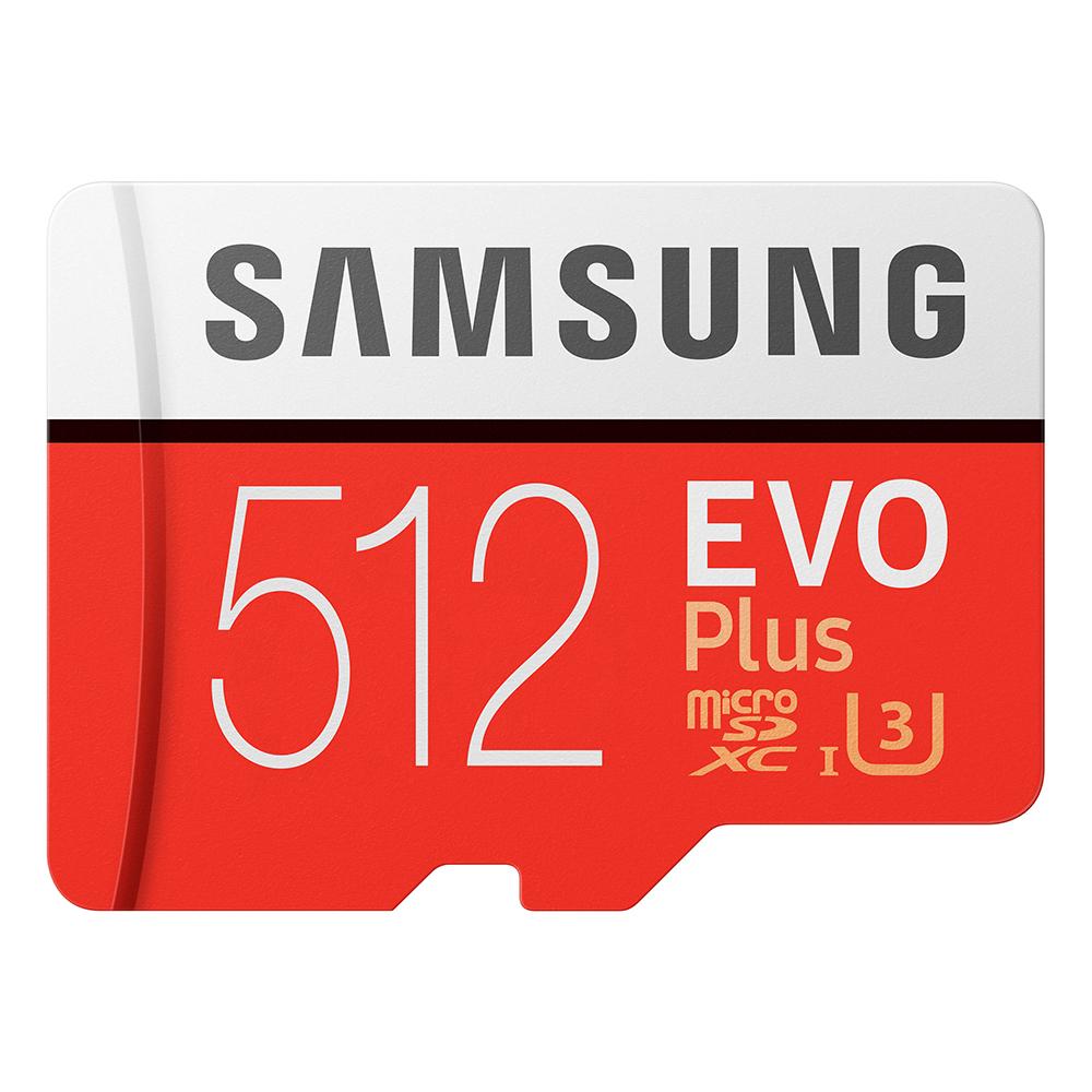 Samsung三星 EVO Plus microSDXC 512GB 高速記憶卡 公司貨