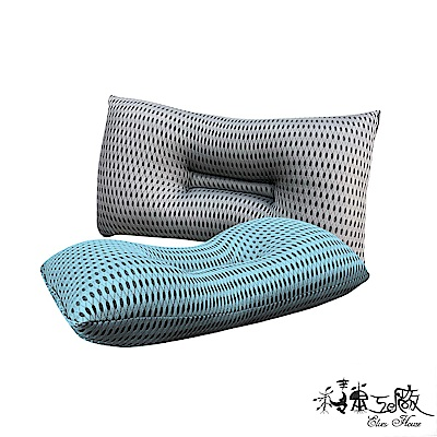 精靈工廠 6D超涼感奈米銀離子 透氣止鼾枕