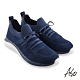 A.S.O 活力雙核心針織鞋帶休閒鞋-藍色 product thumbnail 1