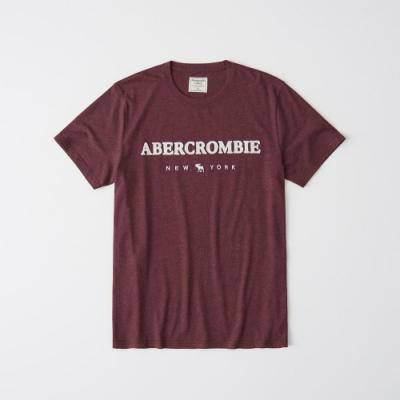 AF a&f Abercrombie & Fitch 短袖T恤 紅色 1349