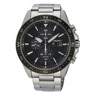 SEIKO PROSPEX 陸行者太陽能計時腕錶/SSC705P1/V176-0BA0D