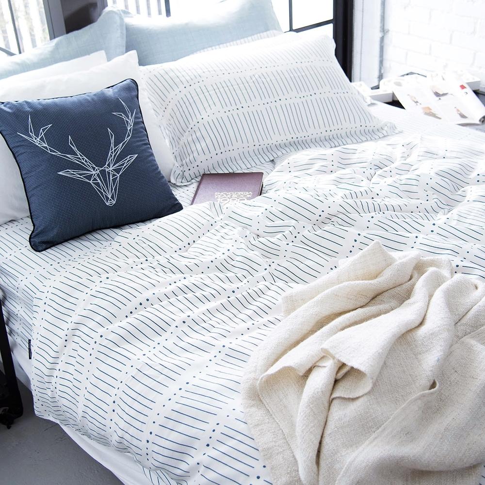 OLIVIA ROY 標準雙人床包被套四件組 300織天TM萊賽爾 台灣製