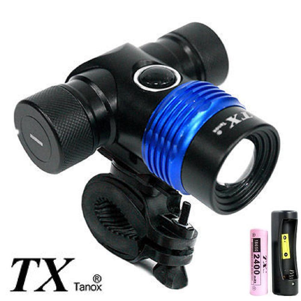 TX特林五色鏡片五段照明腳踏車燈(T-NJK28-L2)