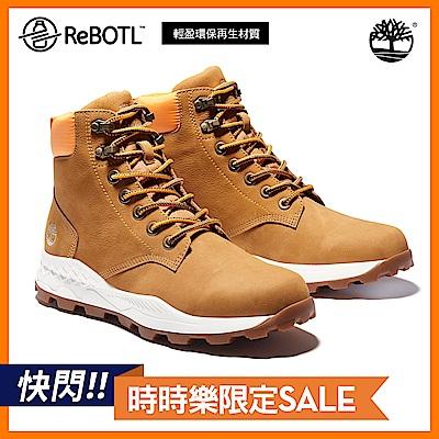 Timberland 男款小麥黃磨砂革布魯克林6吋靴|A2DSZ