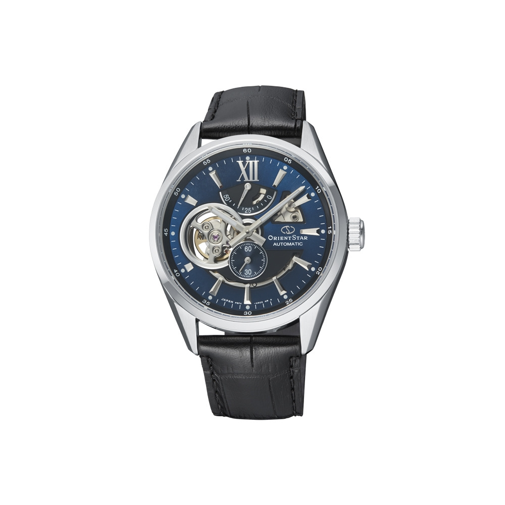 Orient Star 東方之星 天將雄師 簍空機械錶(RE-AV0005L)藍-41mm