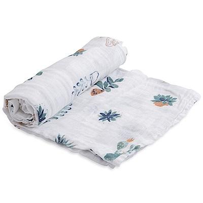 美國Little Unicorn 純棉紗布巾單入組(6款可選)