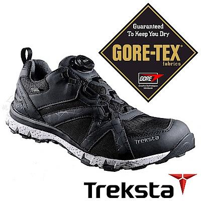 【Treksta 】男GTX防水健行鞋『黑』KR18AM