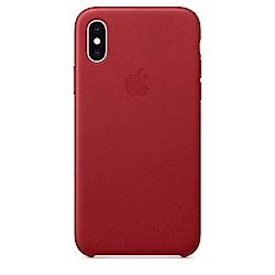 【APPLE原廠公司貨】iPhone XS Max 皮革保護殼