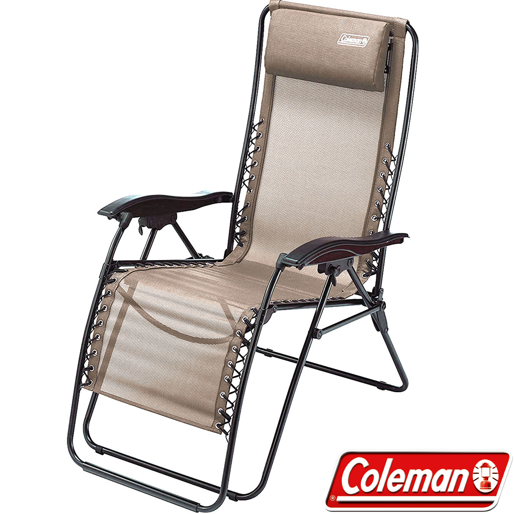 Coleman 33139 INFINITY躺椅 高背椅/露營休閒椅/大川椅/扶手摺疊椅
