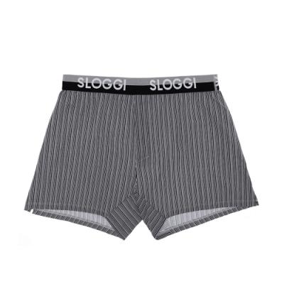 sloggi Men The Slim Fit系列男士合身平口內褲 M-XXL 灰黑條紋 90A462K9
