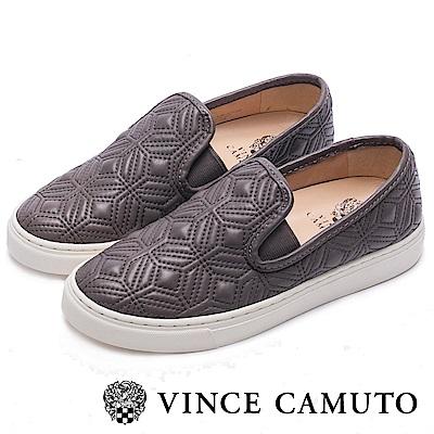 VINCE CAMUTO 簡約幾何舒適氣墊懶人鞋-灰色