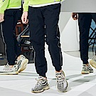 CACO-反光織條縮口褲-男【QNC076】