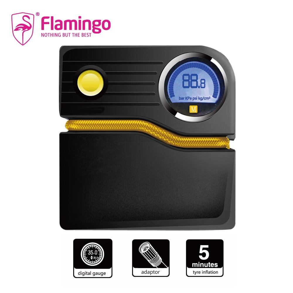 Flamingo火鶴鳥數位智慧多功能輪胎打氣機(F1608D3)