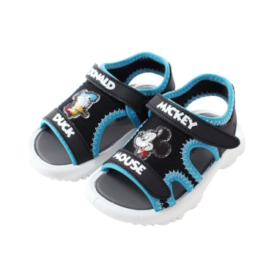 魔法Baby 男童鞋 台灣製迪士尼米奇唐老鴨正版休閒運動涼鞋 sd3187